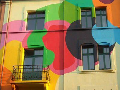 Фото фасада, отделанного силиконовой штукатуркой