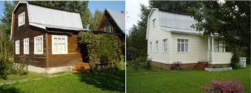 Отделка старого дома сайдингом визуально преображает жилище