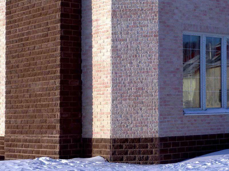 керамический сайдинг отделка стен