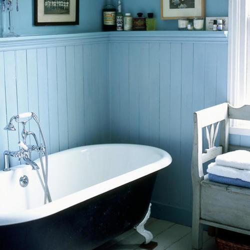 Сайдинг в ванную комнату – аккуратная и недорогая отделка без излишеств
