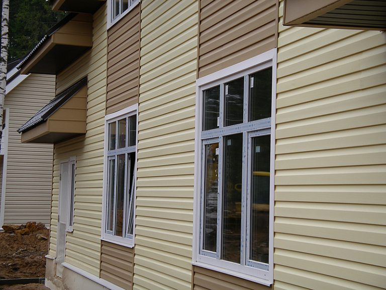 панели для отделки фасада дома