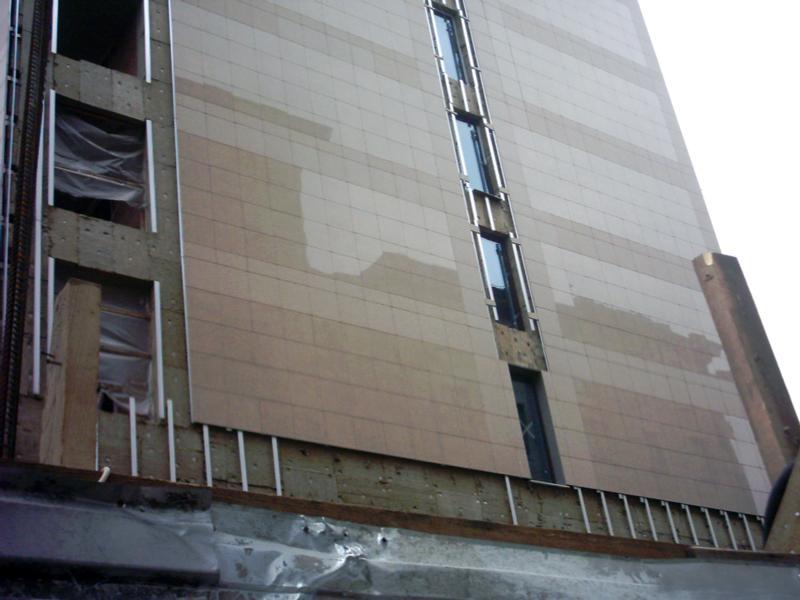 плитка для фасада из керамогранита