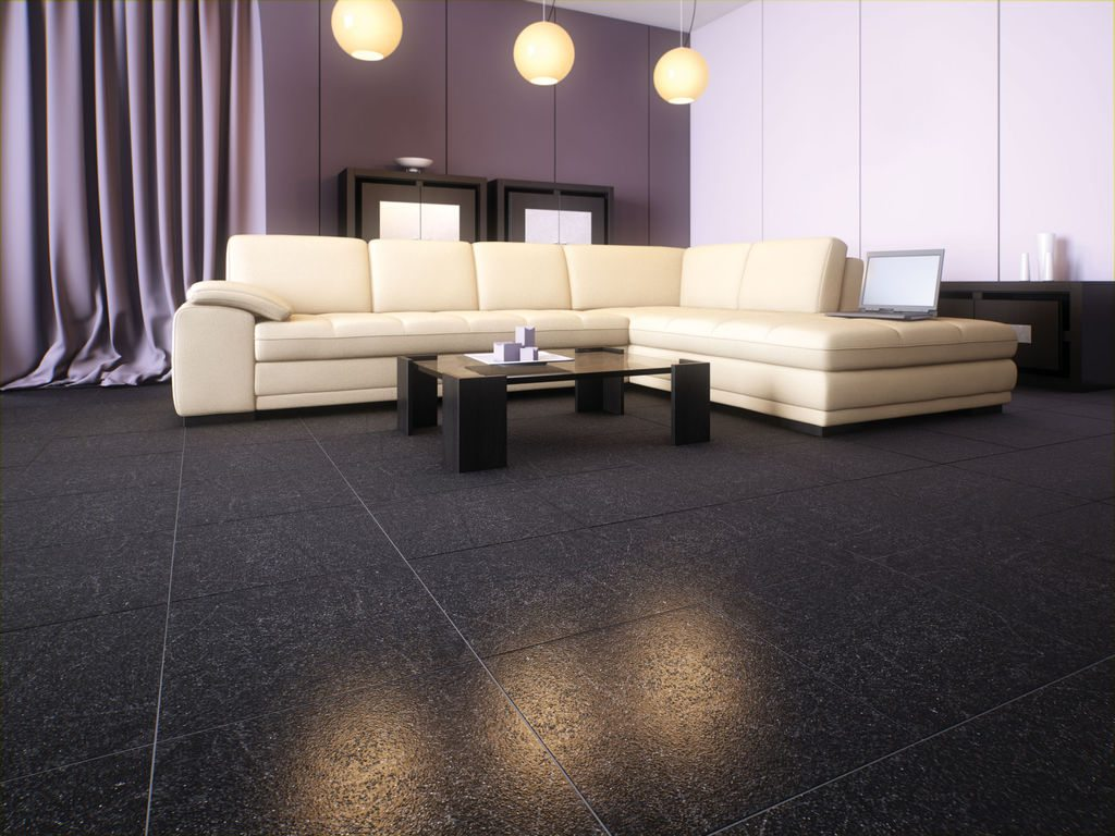 Укладка керамогранитной плиты на цементный раствор возможна. Но лишь при условии стабильной температуры.