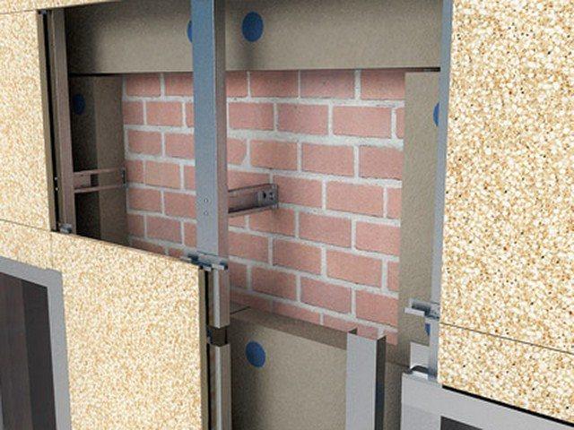 подсистемы для вентилируемых фасадов