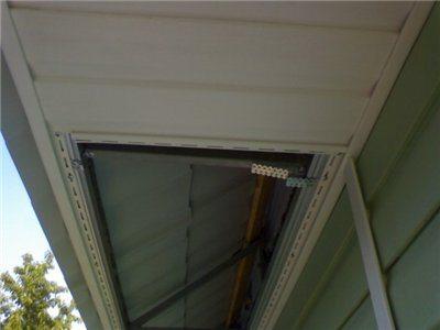 потолок из сайдинга на кухне