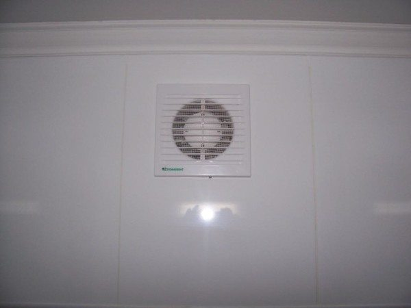 Принудительная вентиляция позволит уменьшить влажность воздуха