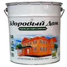Пропитка для древесины с биоцидными добавками и льняным маслом.