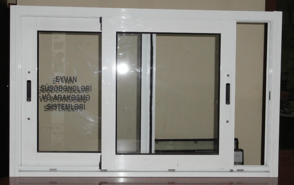 Раздвижной ПВХ-стеклопакет