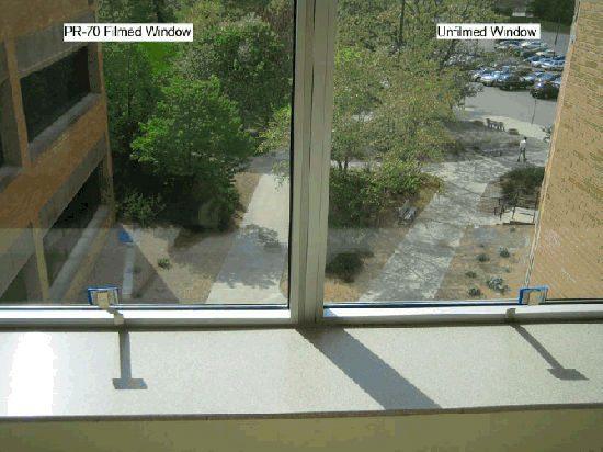Разница во внешнем виде из окна при использовании подобных материалов от популярных производителей