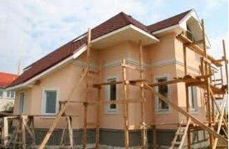 ремонт фасада частного дома