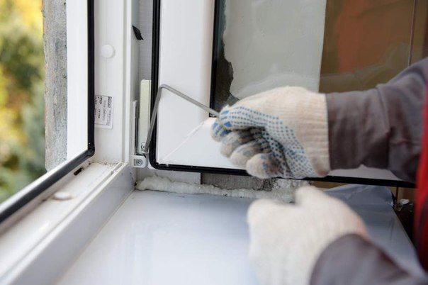 Самостоятельная замена и ремонт пластиковых окон