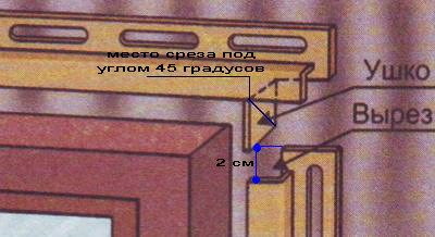 Состыковка обшивки