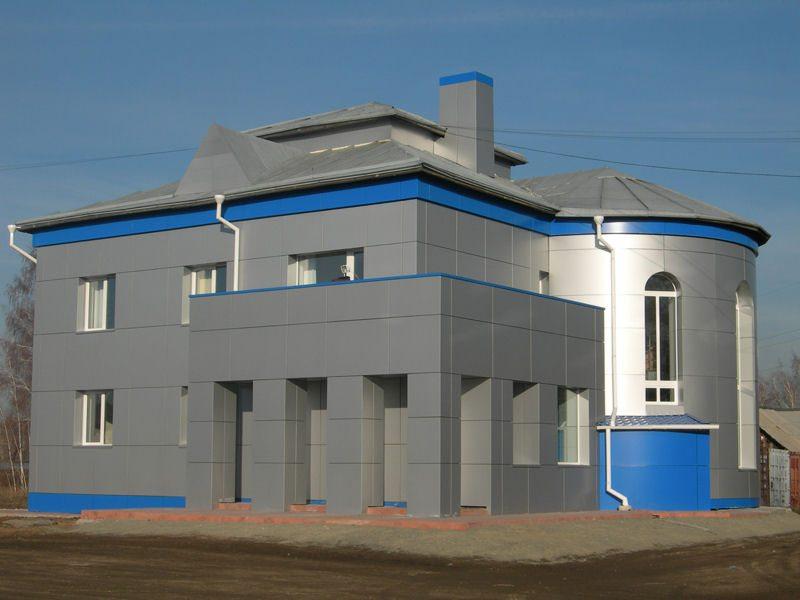 современная отделка фасадов