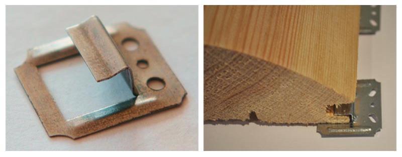 специальный крепежный элемент кляймер