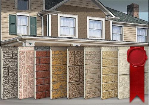 стеновые фасадные панели полиалпан