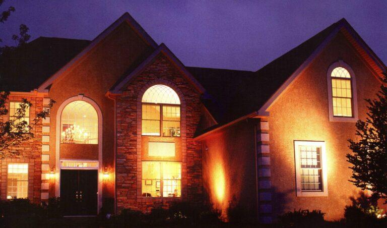 светодиодные фасадные светильники
