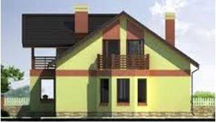 Фасад, окрашенный современными красками