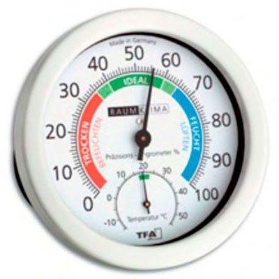 Термометр-гидрометр TFA