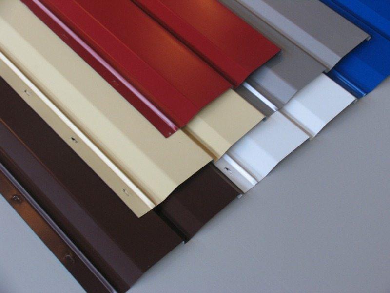 Великолепна палитра цветов стального и алюминиевого сайдинга.