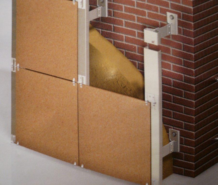 устройство вентилируемых фасадов из керамогранита