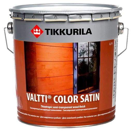 Валти Колор Сатин – лессирующий антисептик для покрытия деревянных изделий.