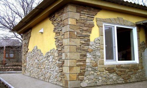 варианты отделки фасадов коттеджей