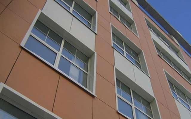 вентилируемый фасад из фиброцементных плит