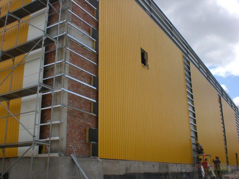 вентилируемый фасад из профлиста