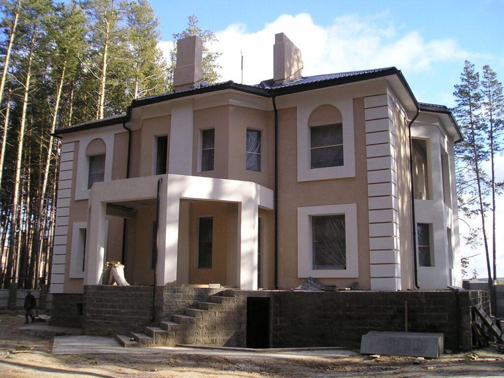 виды отделки фасадов домов