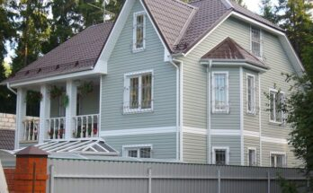 Виниловый сайдинг — прекрасный отделочный материал для дачных домиков и коттеджей