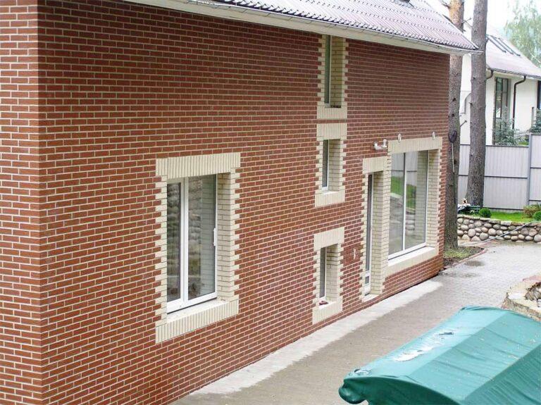 Фото домов фасадной плитки