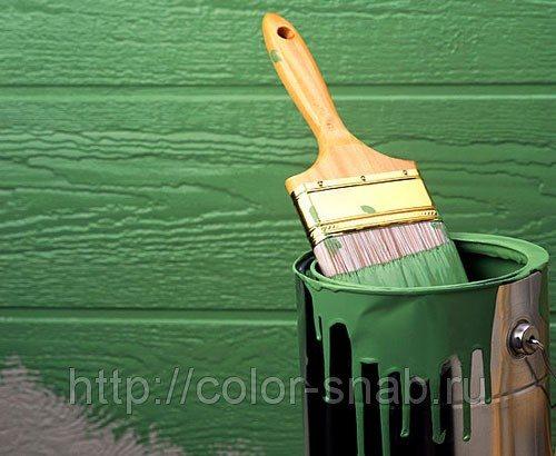чем покрасить фасад деревянного дома