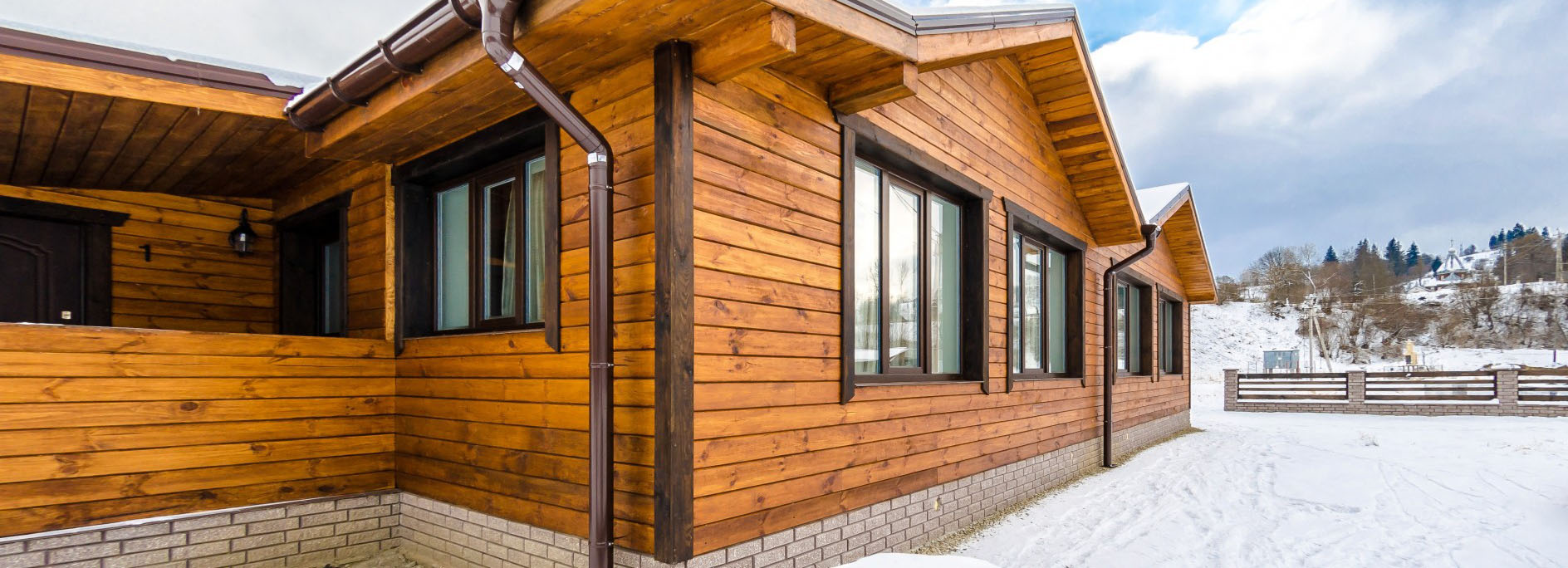 деревянные фасадные панели