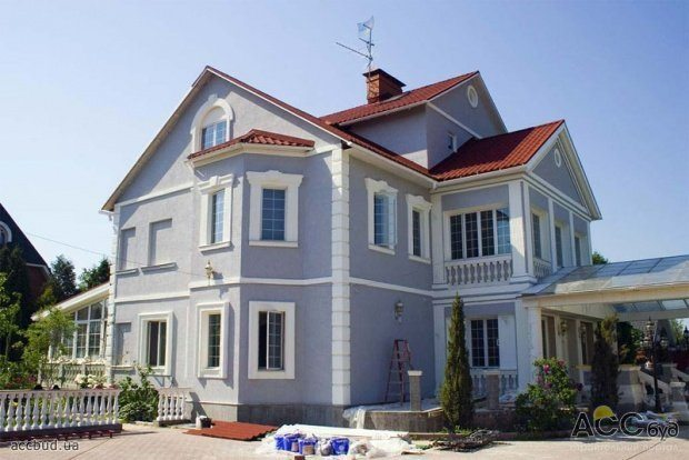 Дизайн домов фасады