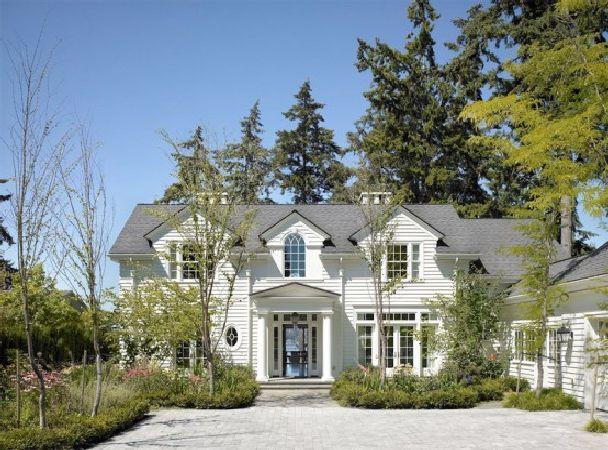 дом в романтическом стиле