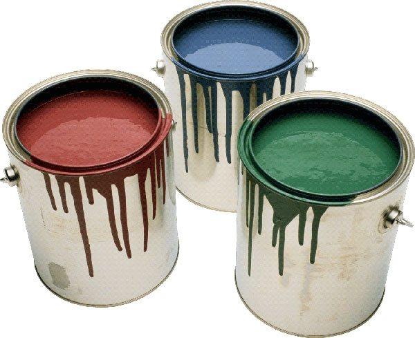 Масляные краски различных цветов.