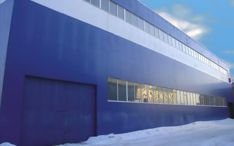 Фасады из сэндвич панелей НТК