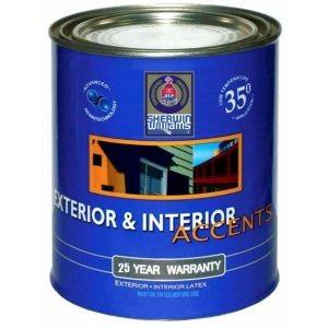 Фасадная краска для окрашивания полиуретановой лепнины