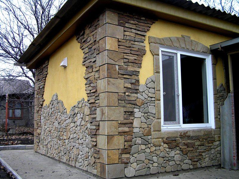 Фото ремонт фасада дома своими руками