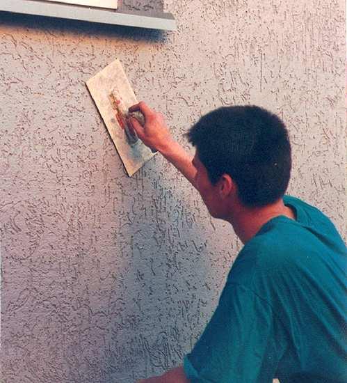 Штукатурка фасадов своими руками