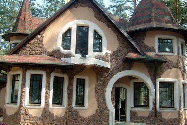 фасадный декор своими руками
