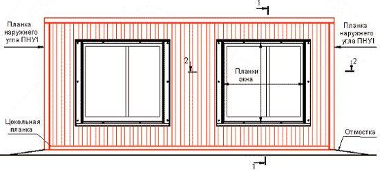 фасадный металлопрофиль