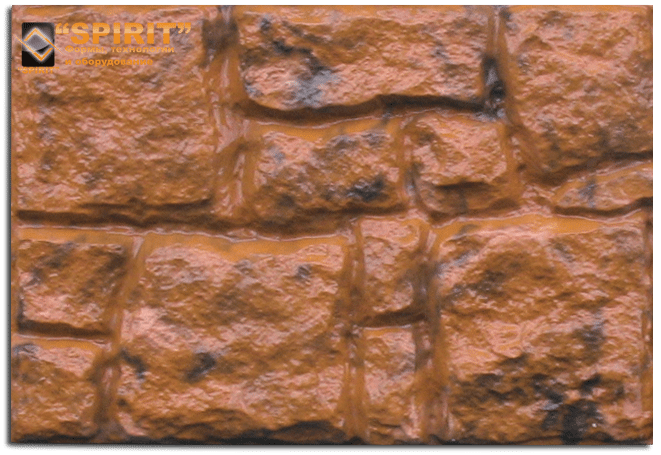 При использовании на улице искусственный камень на гипсовой основе желательно защитить от сырости. Либо используя его под навесом, либо покрыв гидрофобным лаком.