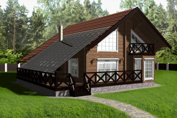 фасады домов в немецком стиле