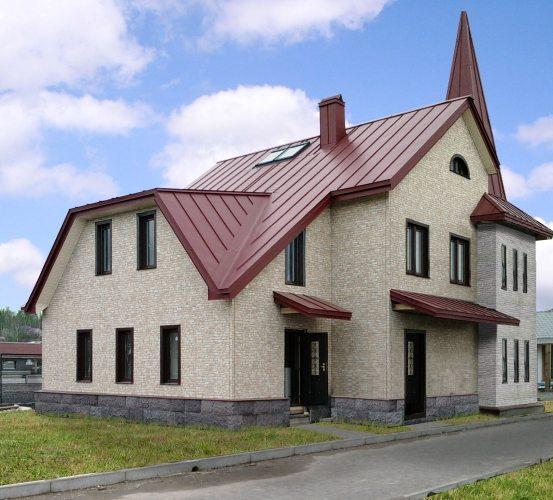 фиброцементная фасадная панель