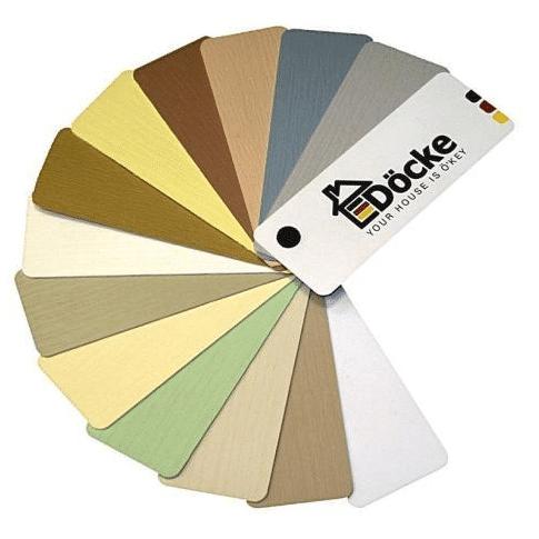 Популярные расцветки сайдинга от немецкого производителя Деке