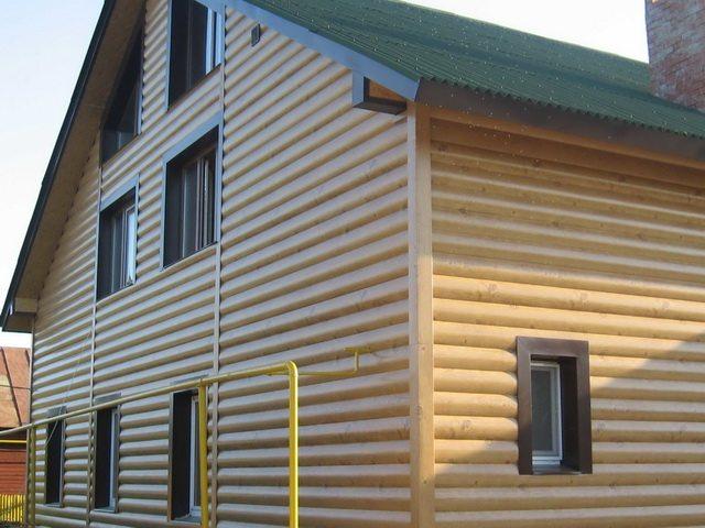 Полная имитация дома из бруса