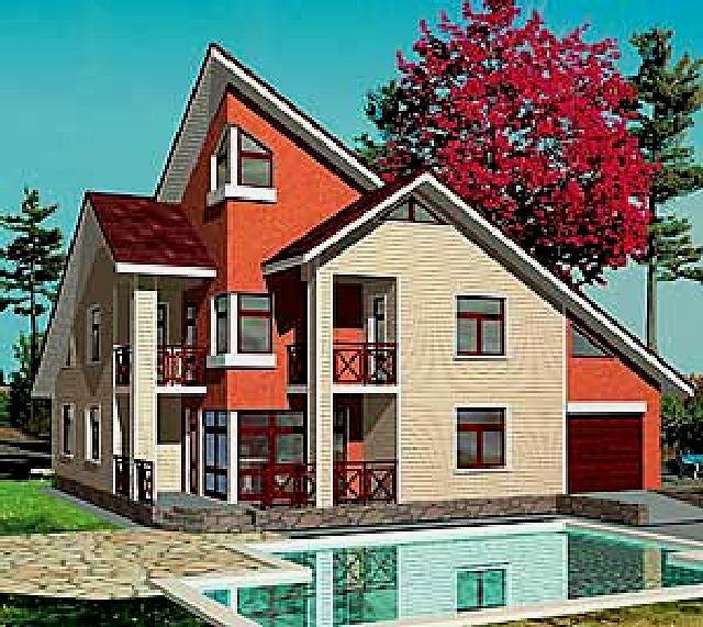 как сделать фасад дома