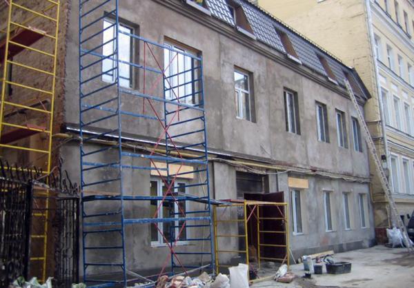 какие бывают фасады домов