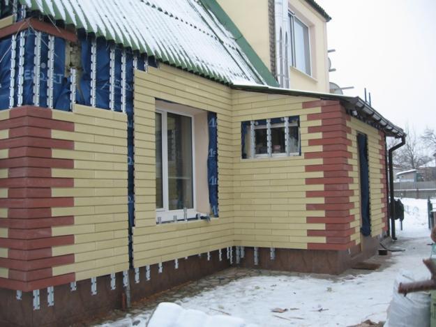 Фасады дома своими руками